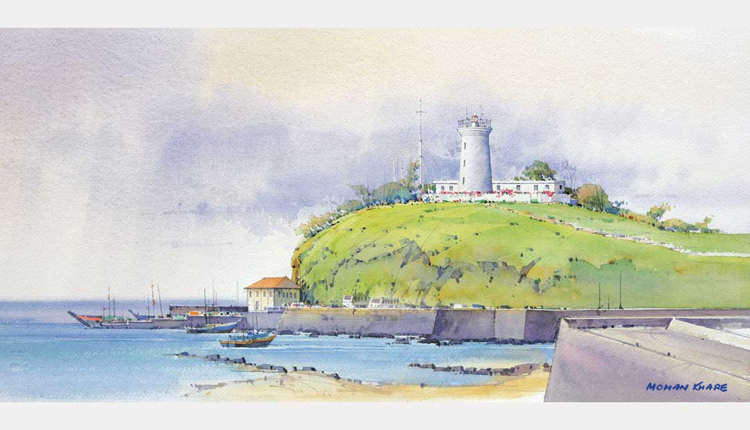 Harnai Lighthouse Maharashtra India