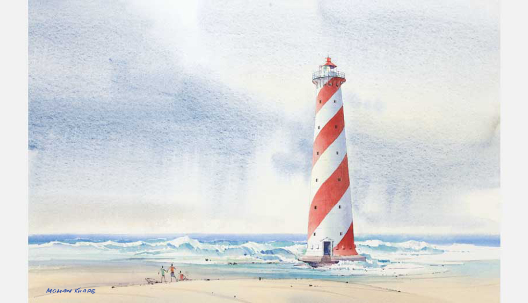 Indira Point Lighthouse A&N Island India