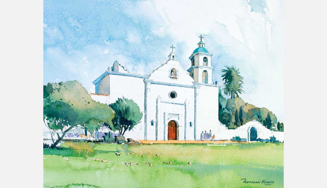 Mission San Luis Ray California US